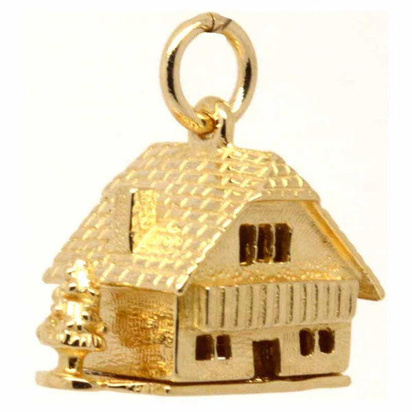 Gold Charm - Gold Chalet Cottage Charm With Tree