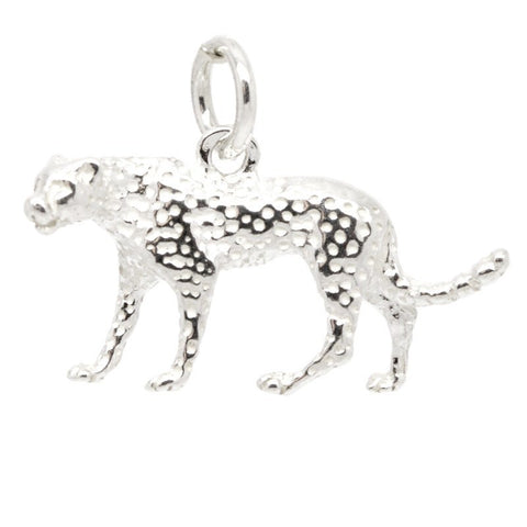 Gold Cheetah Charm