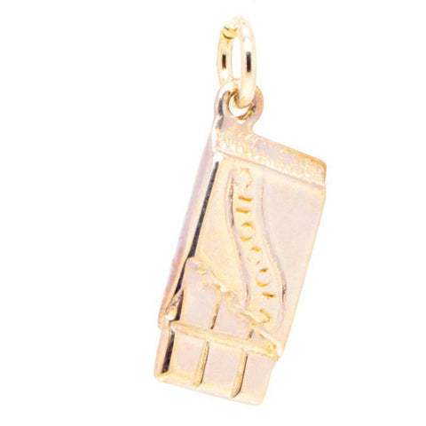 Gold Chocolate Bar Charm