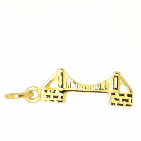 Gold Clifton Suspension Bridge Charm