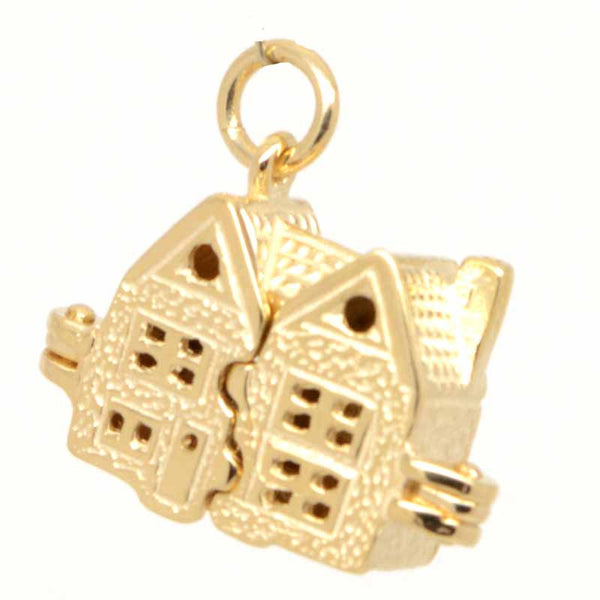 Gold Dolls House Charm - Perfectcharm - 1