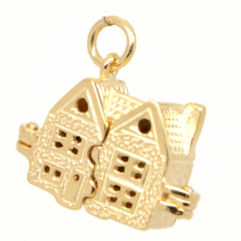 Gold Dolls House Charm
