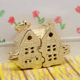 Gold Dolls House Charm - Perfectcharm - 3