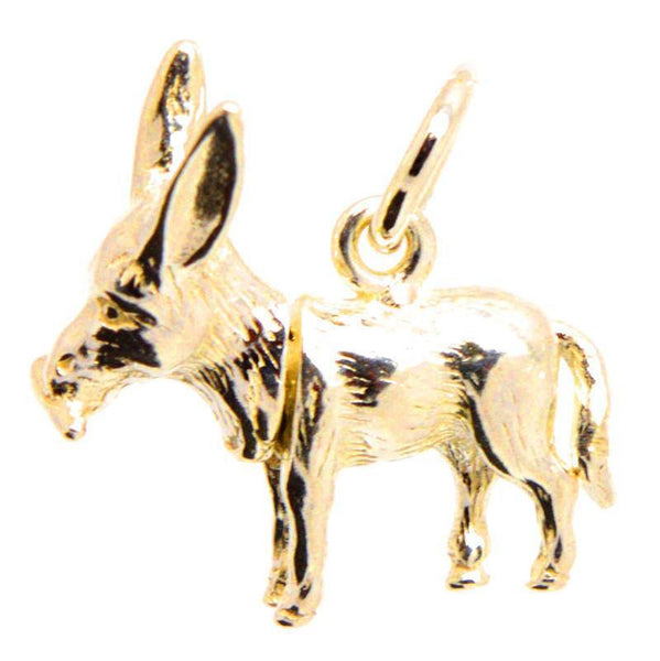 Gold Donkey Charm - Perfectcharm - 2