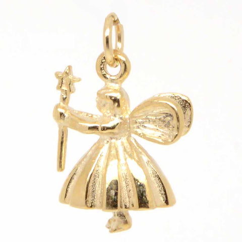 Gold Fairy Godmother charm