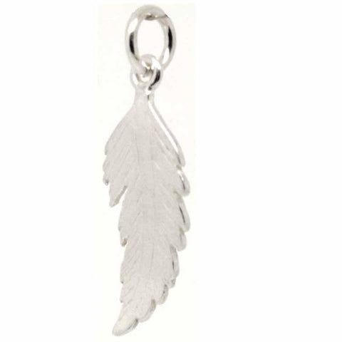 Gold Feather Charm