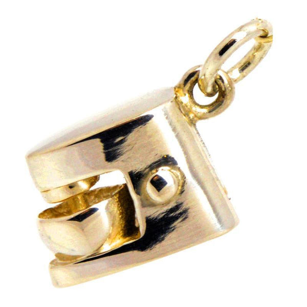 Gold Foodmixer Charm - Perfectcharm - 1