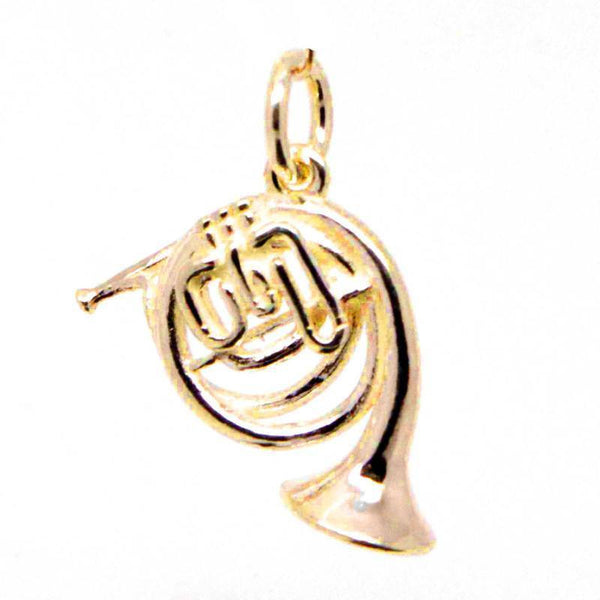Gold French Horn Charm - Perfectcharm - 1