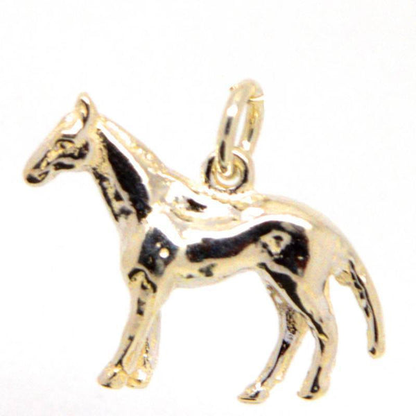 Gold Horse Charm - Perfectcharm - 1