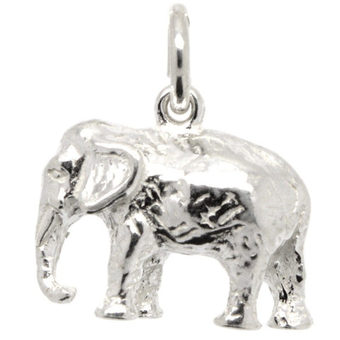 Gold Indian Elephant Charm