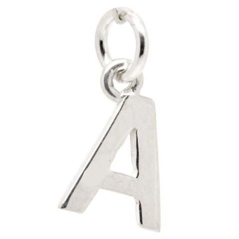 Gold Initial letter A Charm