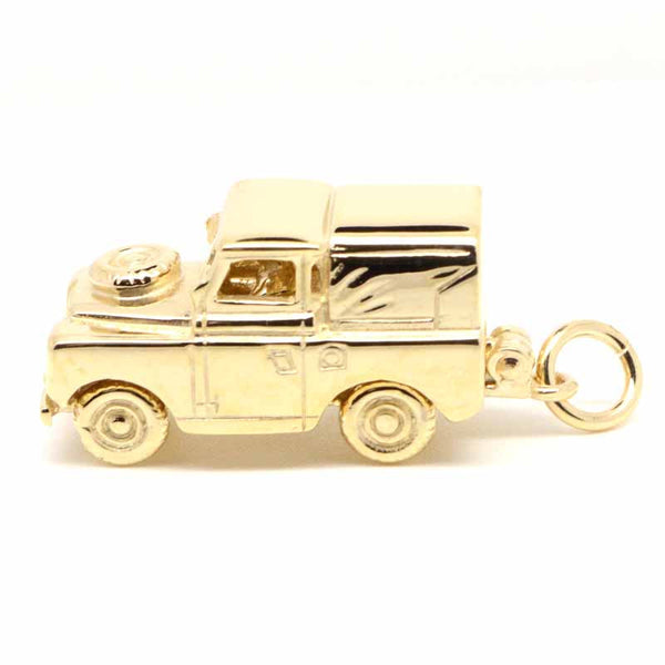 Gold Landrover Charm - Perfectcharm - 1