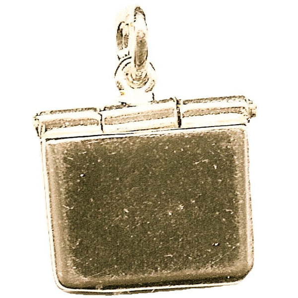 Gold Laptop computer Charm - Perfectcharm - 1