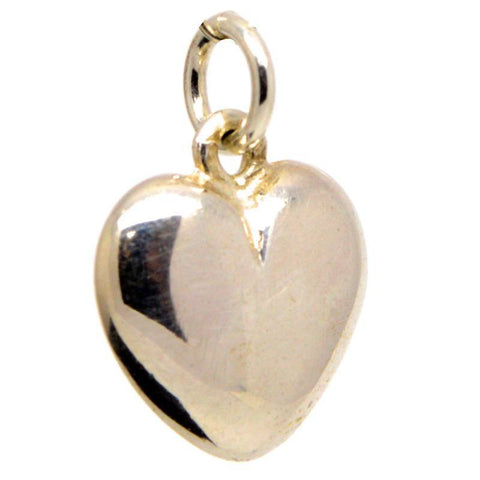 Gold Medium Heart Charm