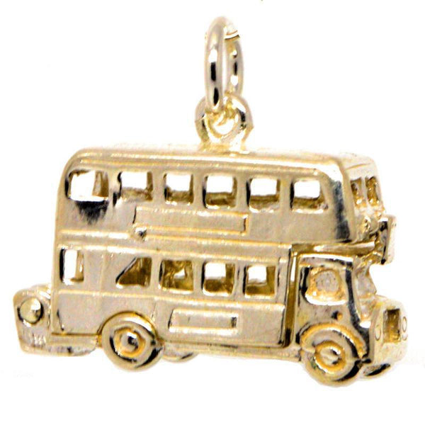 Gold Large London Bus Charm - Perfectcharm - 1