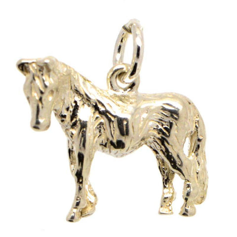 Gold Large Pony Charm