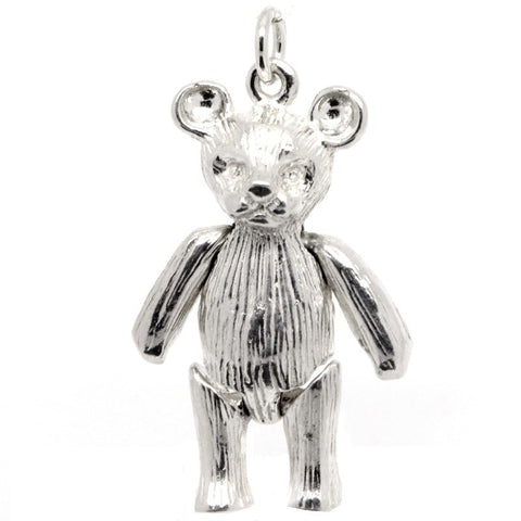 Gold Large Teddy Bear Charm