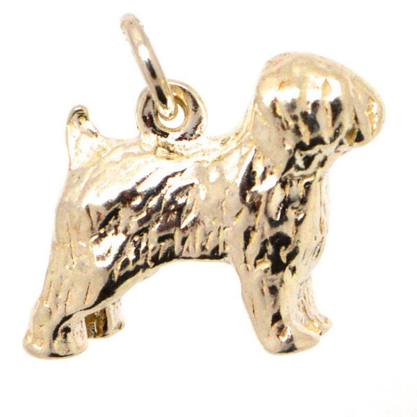 Gold Old English Sheepdog Charm - Perfectcharm - 1
