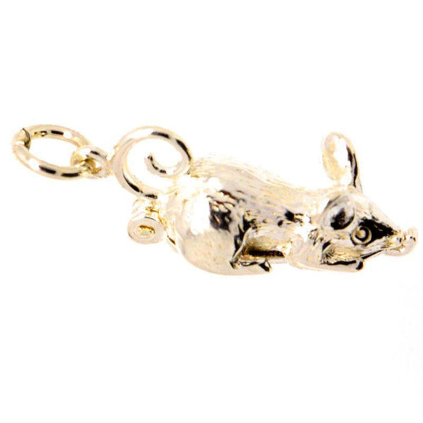 Gold Opening mouse Charm - Perfectcharm - 1