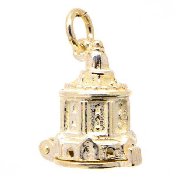 Gold Oxford Radcliffe Camera Charm - Perfectcharm - 1