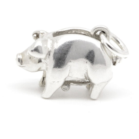 Gold Piggy Bank Charm