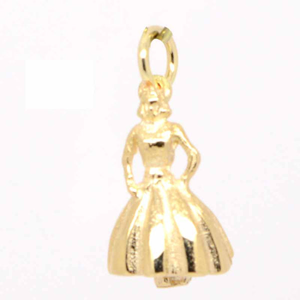 Gold Princess Charm - Perfectcharm - 1