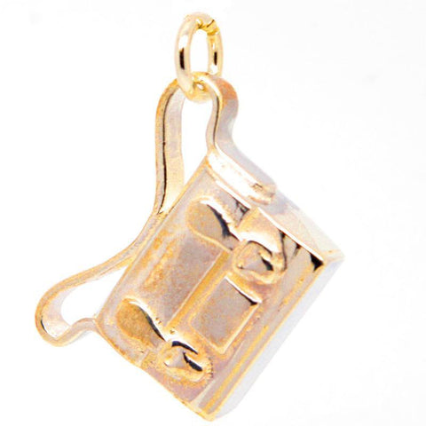 Gold Satchel or school bag Charm