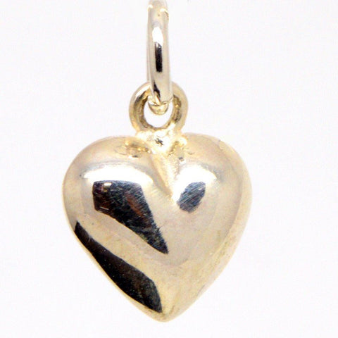 Gold Small Heart Charm