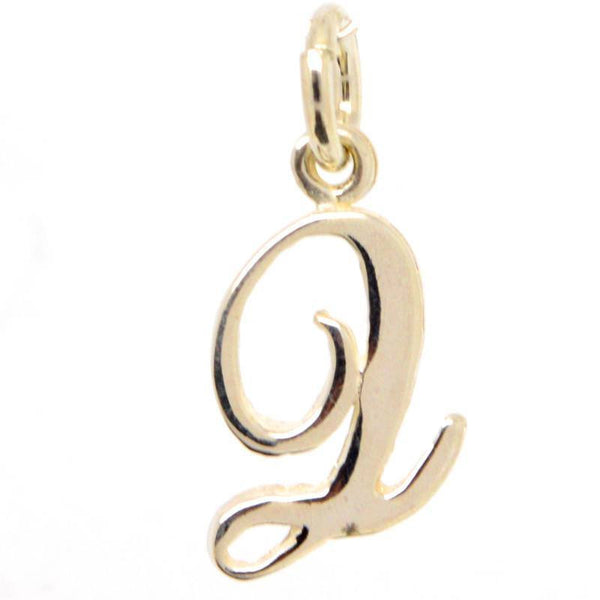 Gold Small Italic Q Charm - Perfectcharm - 1