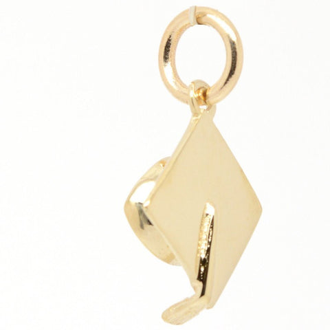 Gold Small Mortarboard Charm