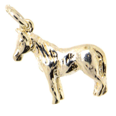 Gold Small Pony Charm
