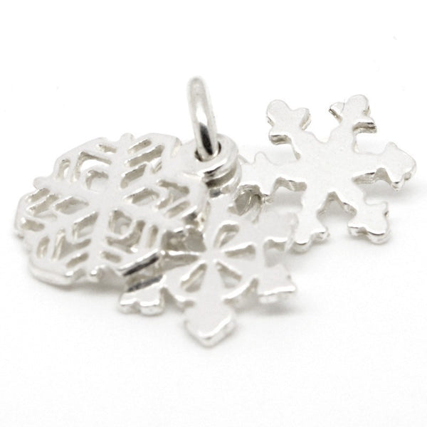 Gold Snowflake Cluster Charm - Perfectcharm - 1