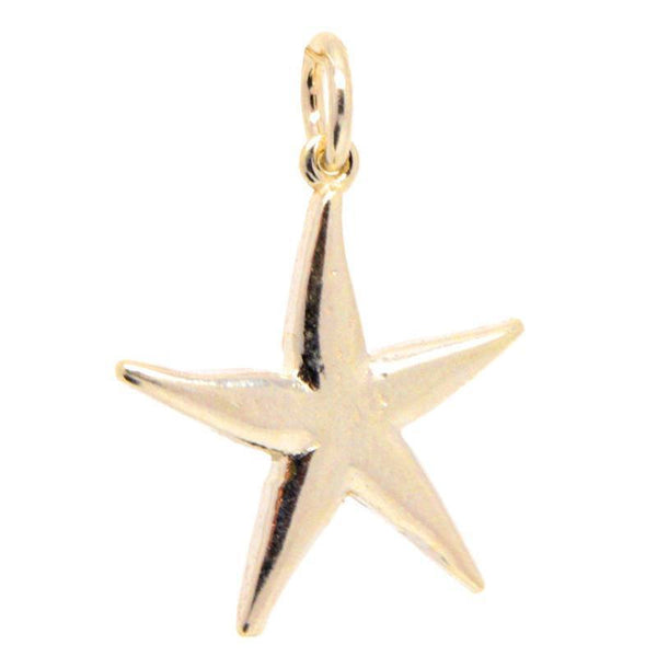 Gold Starfish Charm - Perfectcharm - 1