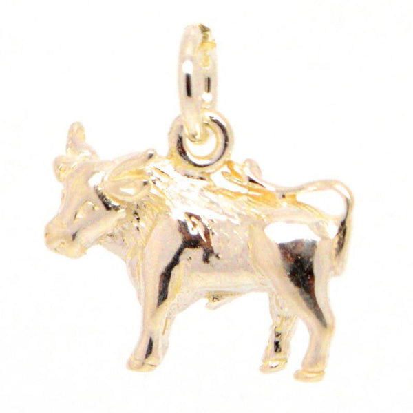 Gold Taurus Charm - Perfectcharm - 1