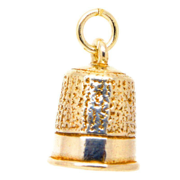 Gold Thimble Charm - Perfectcharm - 1