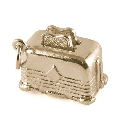 Gold Toaster Charm - Perfectcharm - 1