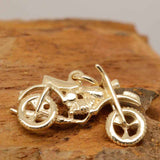 Gold Trail Motorbike Charm - Perfectcharm - 3