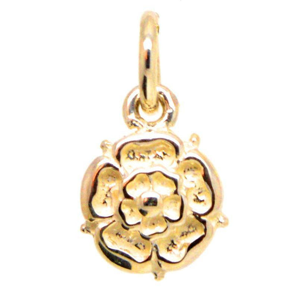 Gold Tudor Rose Charm - Perfectcharm - 1