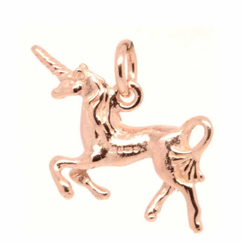 Gold Unicorn Charm