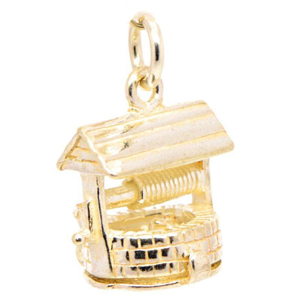 Gold Wishing Well Charm - Perfectcharm - 1