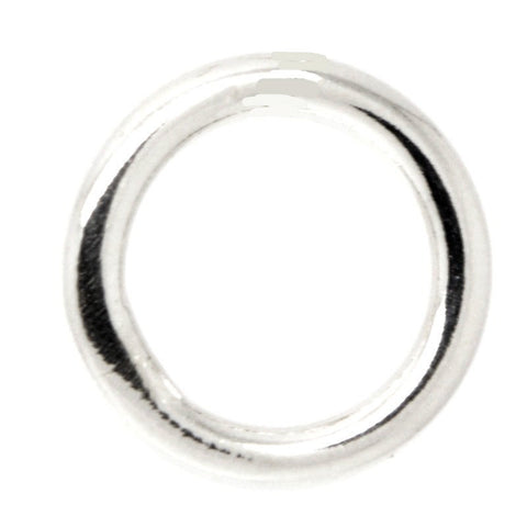Silver Ring for Charm Cluster Necklaces