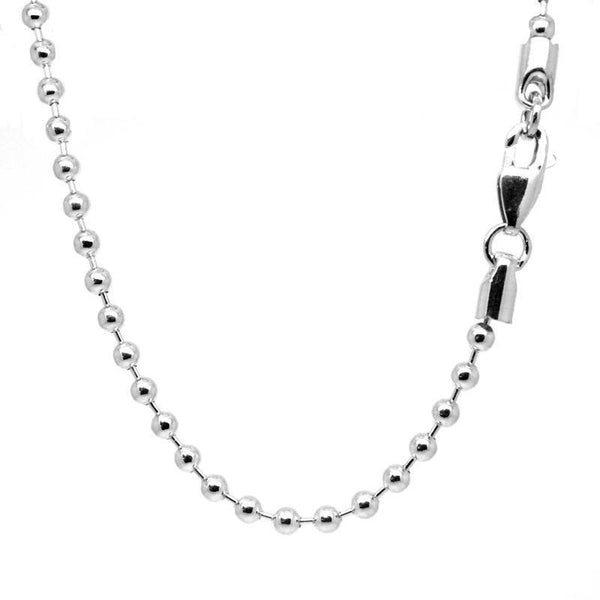 Sterling silver bead necklace - Perfectcharm