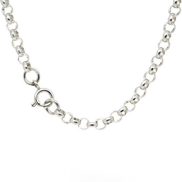 Sterling silver fine belcher necklace - Perfectcharm