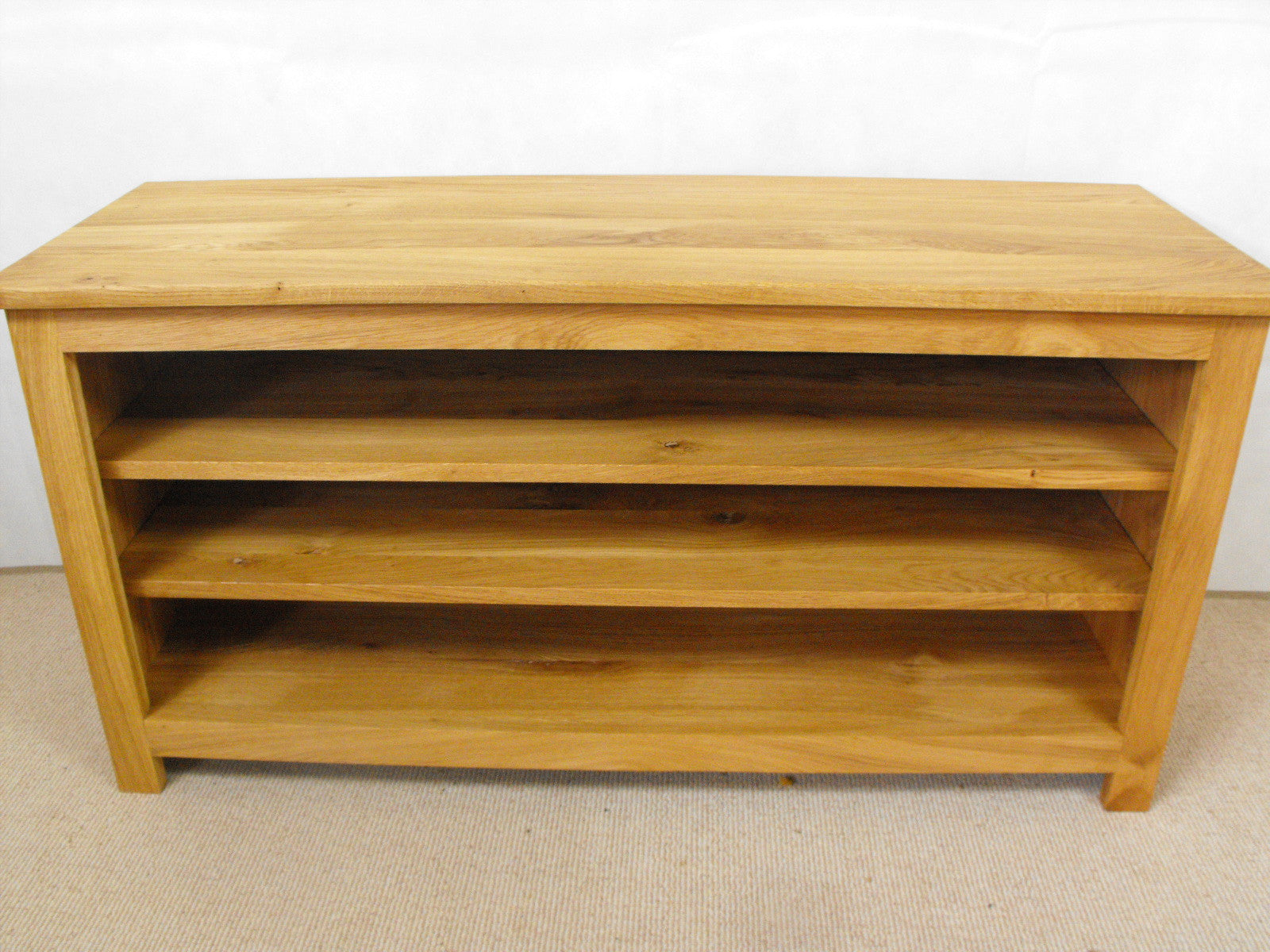 ... Large 1500mm Solid Oak Or Pine TV Unit, Cabinet , Stand Or Hifi Unit ...
