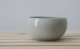 Modern ceramic bowl in gray