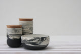 Ceramic set- 2 jars and a bowl.