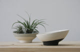 AYA- Ceramic planter with a diagonally top cut
