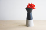 BELLA - Modern ceramic gray vase