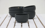 Alex- Ceramic bowl in black