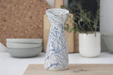 Bella- Modern ceramic vase in blue